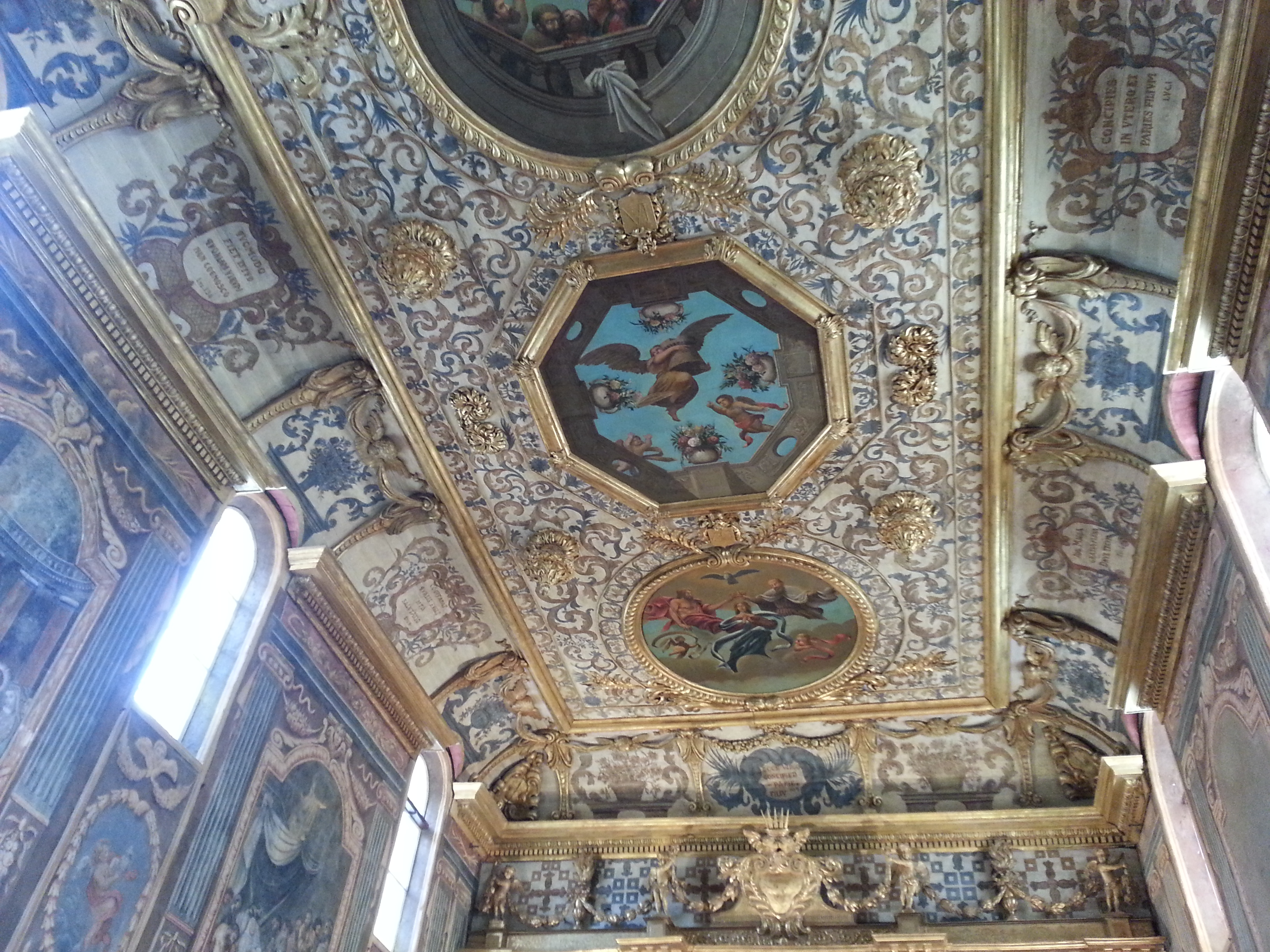 Ceiling Chapel of the White Penitents Martigues