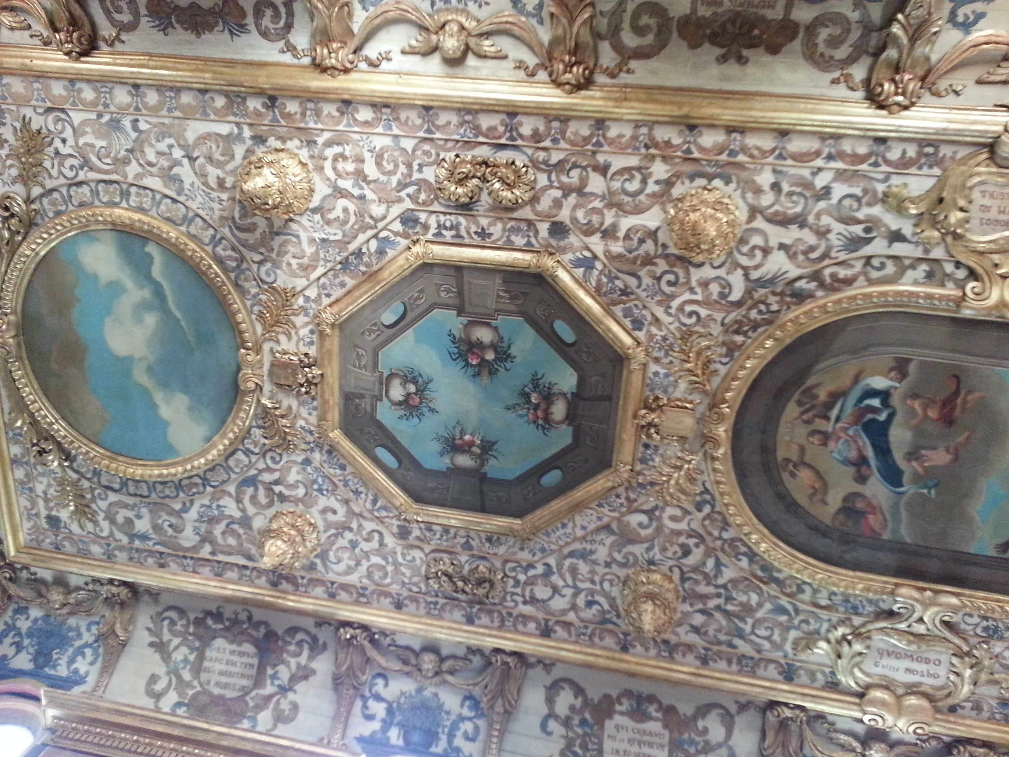Ceiling of the Annonciade chapel in Martigues