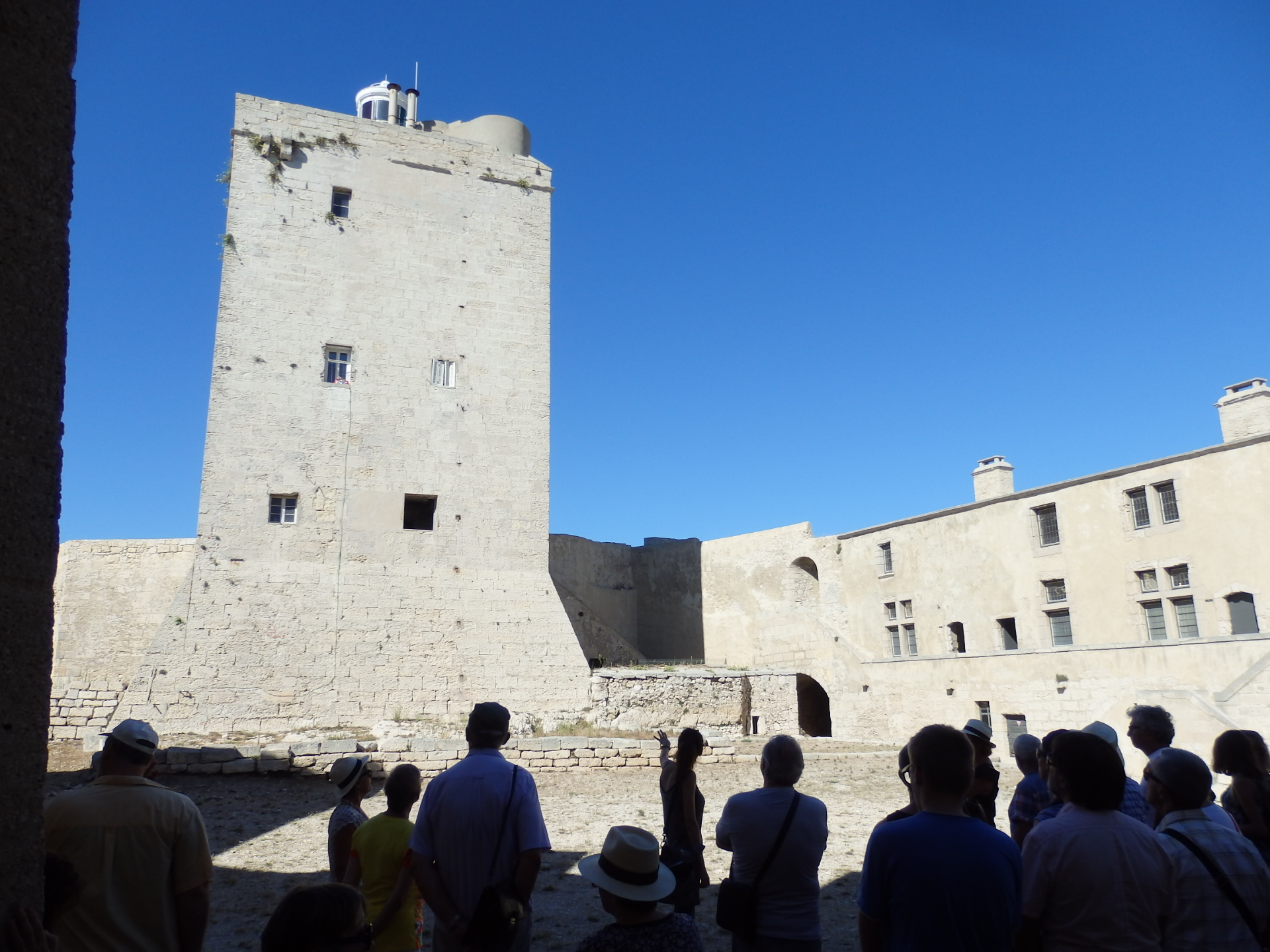 Tour du Fort de Bouc à Martigues